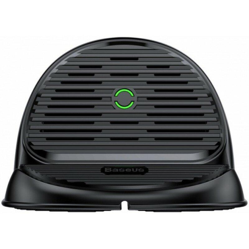 Беспроводная зарядка Baseus Silicone Horizontal Desktop Qi Wireless Charger WXHSG-01 (Черный)