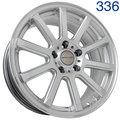 Колесный диск Sakura Wheels D2733 7.5x17/5x114.3 D73.1 ET35 HS - фото 1