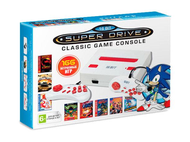 Игровая приставка SEGA NES White (166 игр)