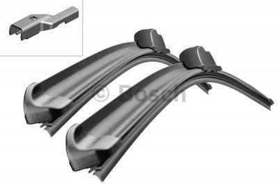 Щетка стеклоочистителя комплект BOSCH Aerotwin A120S, 750 мм / 650 мм, бескаркасная, 2 шт., 3397007120