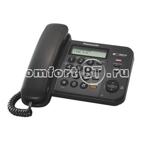 Проводной телефон Panasonic KX-TS2352 RU-B черный