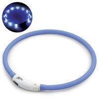Светящийся ошейник, USB-зарядка, голубой, Triol 11271023/24