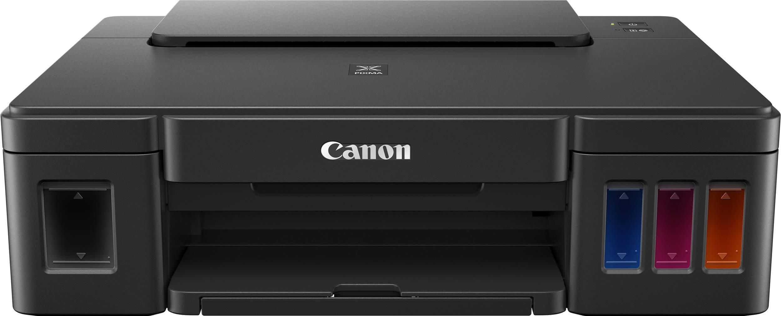 Принтер CANON PIXMA G1411 с СНПЧ, формат A4, цветной, струйный, черный (2314C025)