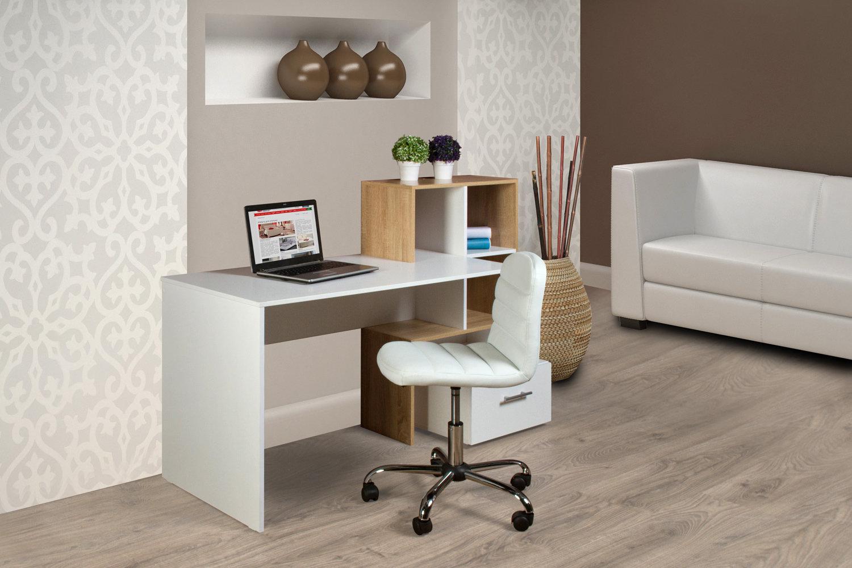 Компьютерный или письменный стол — это обязательное приобретение при покупке мебели в квартиру.