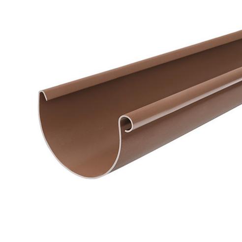 Желоб водосточный BRYZA (Бриза) 125 мм Коричневый