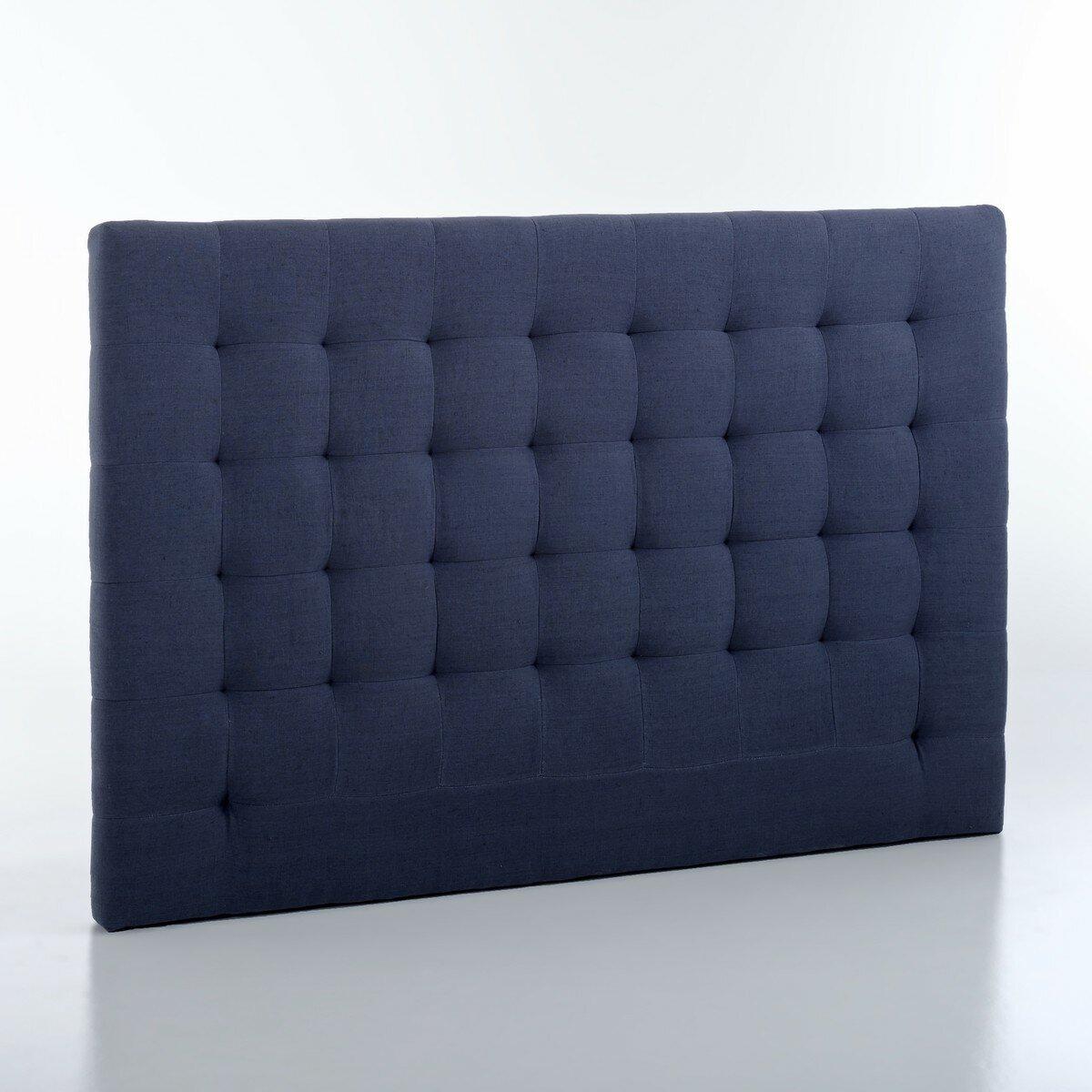 Изголовье La Redoute Кровати с обивкой из осветленного льна В см SELVE 180 см синий