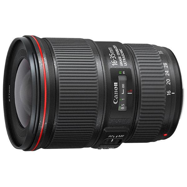 Объектив для зеркального фотоаппарата Canon EF 16-35mm f/4L IS USM