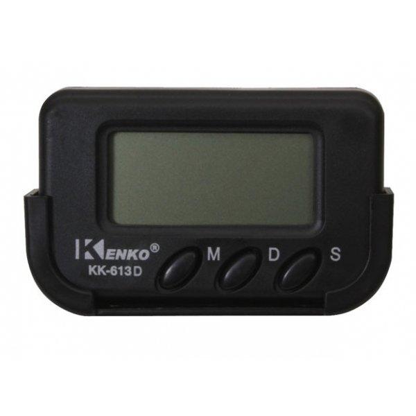Часы автомобильные с будильником Kenko 613D