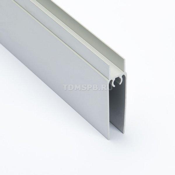 Профиль горизонтальный нижний SIBO, серебро