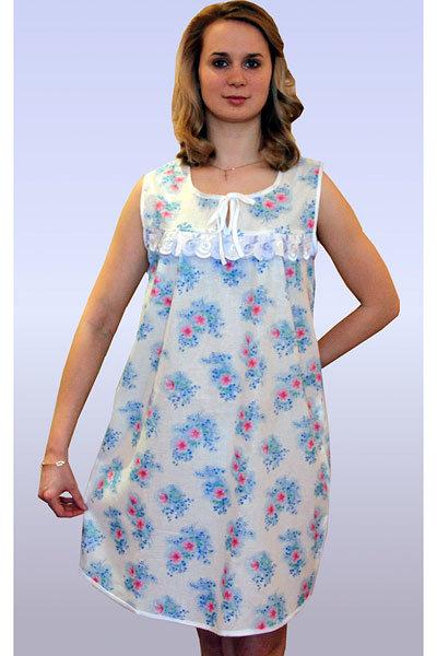 Сорочка ночная женская Матрешка 54 размер