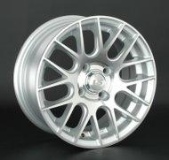 Диски LS Wheels 566 6,5x15 5x100 D73.1 ET35 цвет SF (серебро,полировка) - фото 1