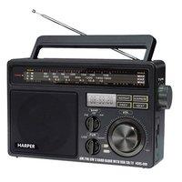 Радиоприемник HARPER HDRS-099, черный
