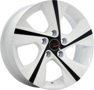 """Диски литые Replica LA Concept-HND509 17"""" 5/114.3 7x17"""" D67,1 ET56 белый+черный - фото 1"""