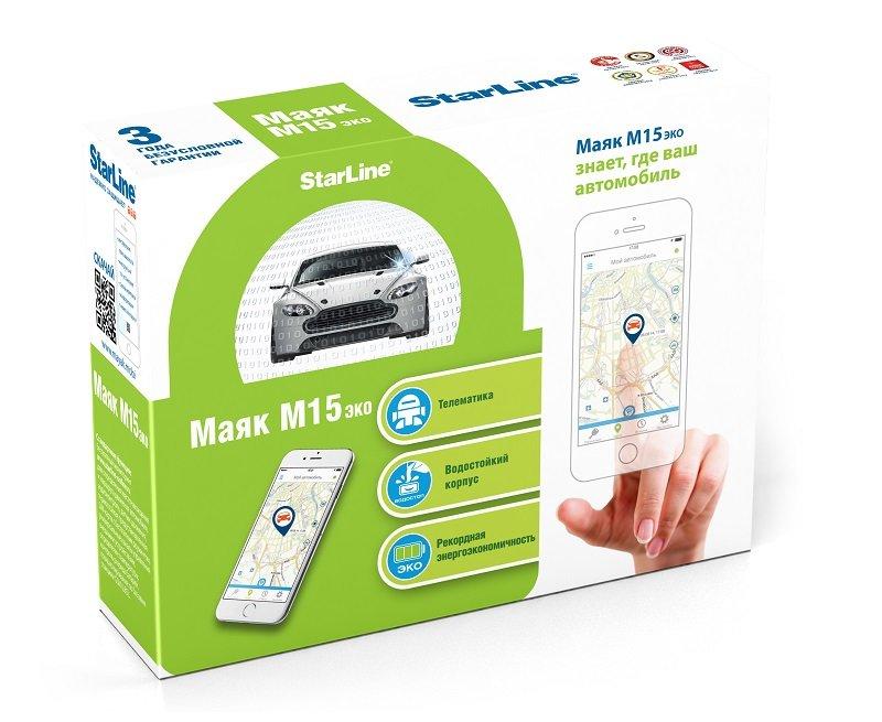 StarLine M15 ECO GPS+Глонасс/GSM-маяк (закладка)