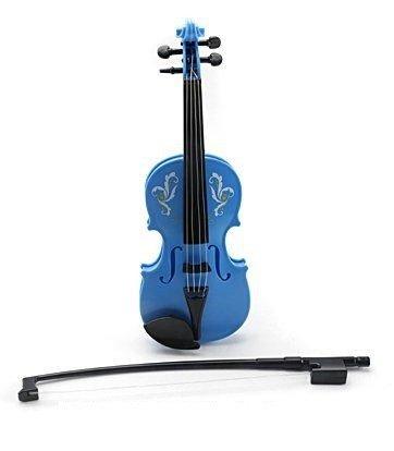 """Музыкальный инструмент """"Скрипка"""", голубой, артикул 369B blue"""