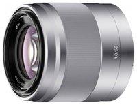 Объектив Sony SEL-50F18 50 mm F/1.8 OSS E for NEX Silver*