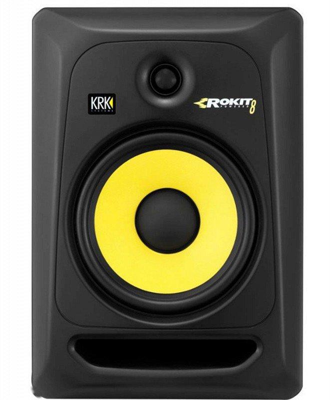 KRK SYSTEMS KRK RP8G3 Активный 2-х полосный (Bi-Amp) 8-ми дюймовый студийный звуковой монитор