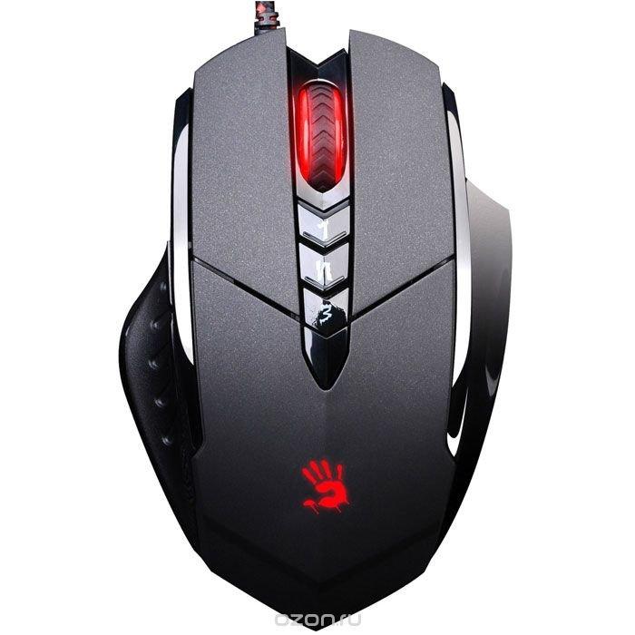 A4Tech Bloody V7, Black проводная игровая мышь