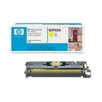 Картридж HP Q3962A (122A) yellow для HP Color LaserJet 2550l, 2550ln, 2550n, 2820, 2830, 2840 (ресурс 4000 страниц)