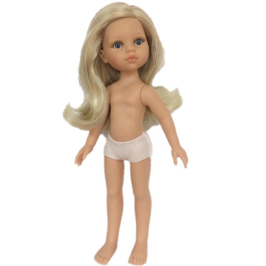 Paola Reina Paola Reina Виниловые куклы Паола Рейна (Paola Reina) - Кукла Клаудия без одежды (32 см)
