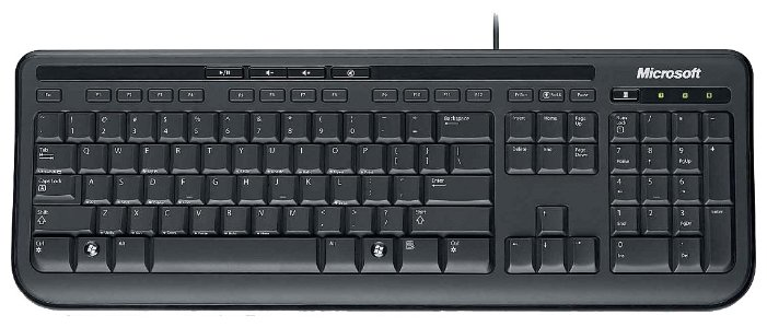 Клавиатура Microsoft Wired Keyboard 600 Black USB