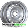 4375 TREBL 5x13/4x100 D54.1 ET46 Silver - фото 1