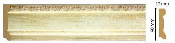 Плинтус напольный DECOMASTER 166-281