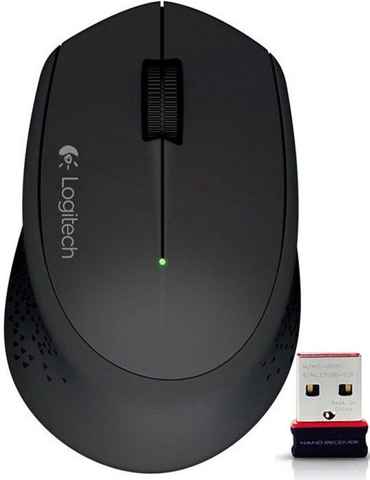 Беспроводная мышь Logitech Wireless Mouse M280 910-004287 (Black)