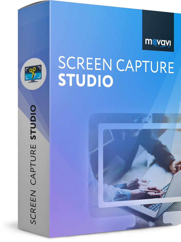 Захват видео с экрана для Mac Movavi Screen Capture Studio for Mac 5 Персональная Версия