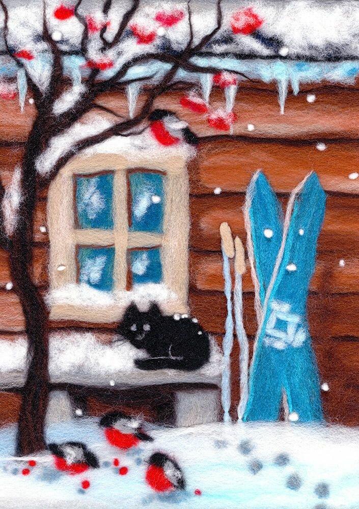Шерсть Woolla Русская зима