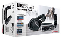 Комплект для звукозаписи steinberg ur22 mkii recording pack