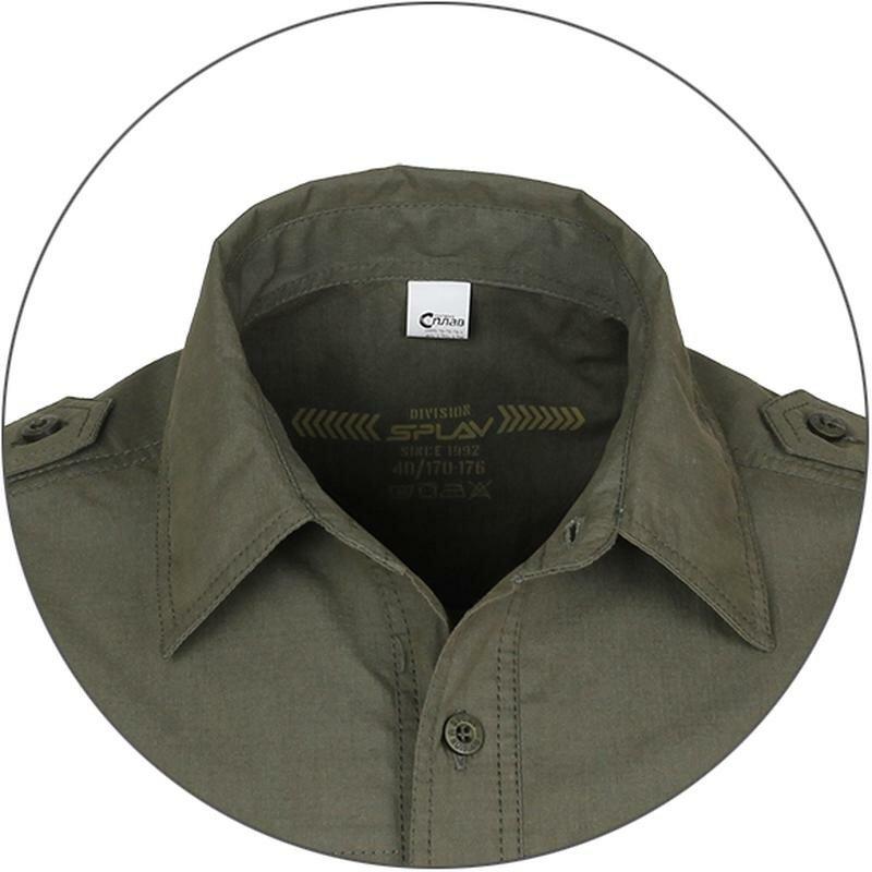 Рубашка Splav «Division», серо-бежевый, размер: 40/170-176