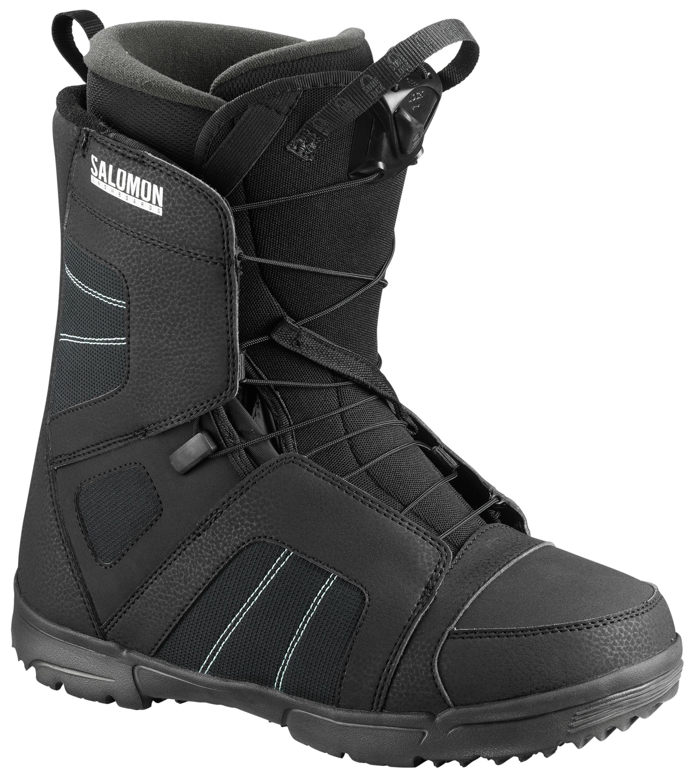 Ботинки Для Сноуборда Salomon 2018-19 Titan Black (См:27,5)