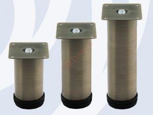 Опора мебельная N0030-150 BA, бронза