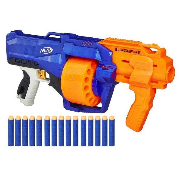 Игрушечное оружие и бластеры Hasbro Nerf E0011 Нерф Бластер Элит Сёрджфайр