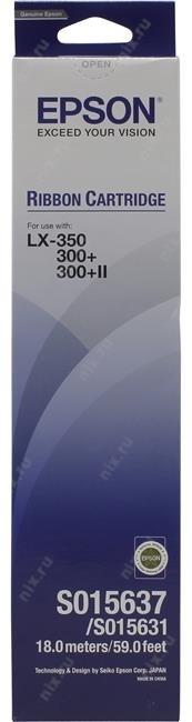 Оригинальный картридж Epson S015637 (картридж с красящей лентой)