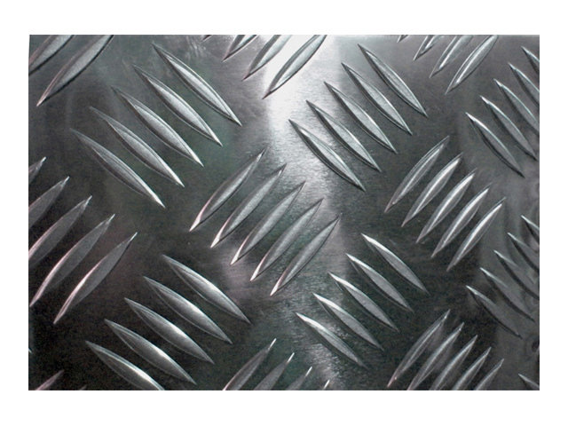 лист алюминиевый рифленый без покрытия 1,5х1200х600мм