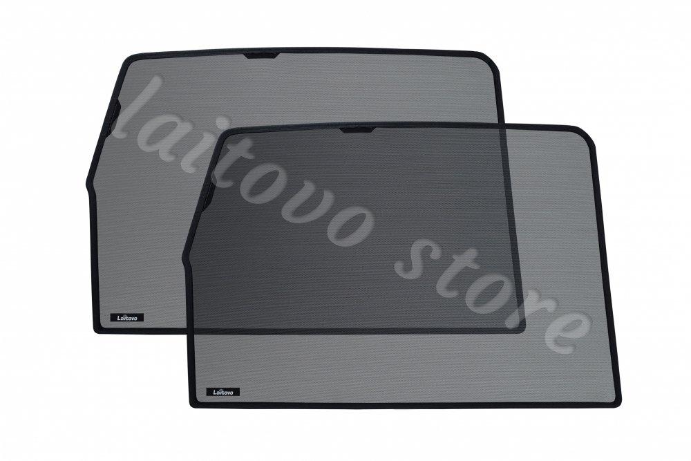 Автомобильные шторки Laitovo на магнитах задние на Toyota Land Cruiser Prado 4G Внедорожник 5D (2009 - н.в.) 150 / стекло задней двери не открывается