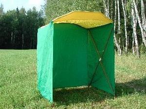 Митек Палатка торговая 1,5х1,5 P(кабриолет)