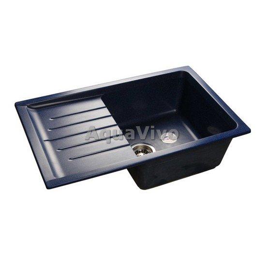 Кухонная мойка GranFest Practic GF-P--760L цвет синий