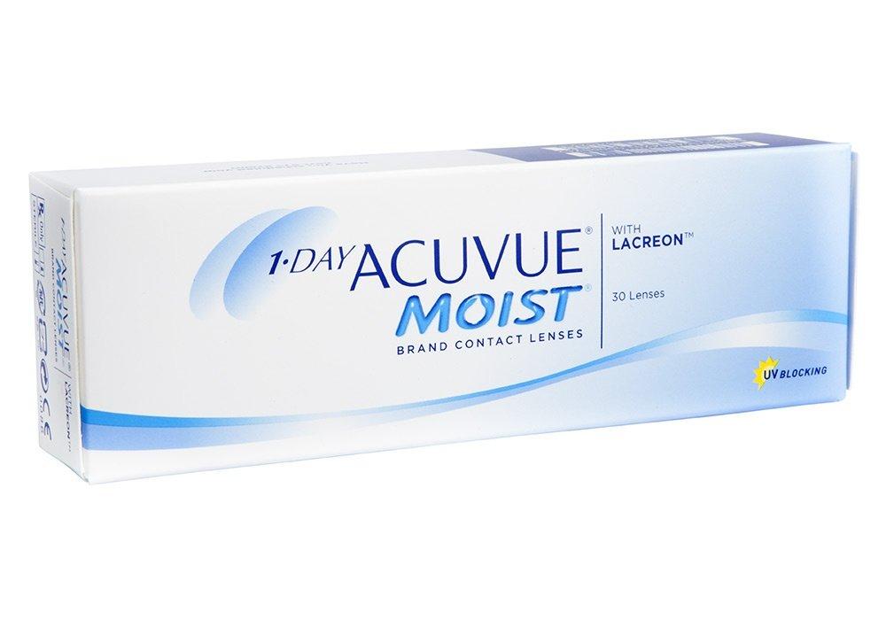 Контактные линзы ACUVUE 1-Day Moist (30 линз)