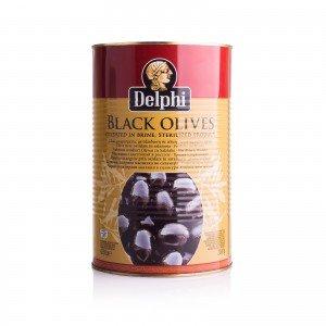 Маслины большая банка 4250г, без косточки Delphi