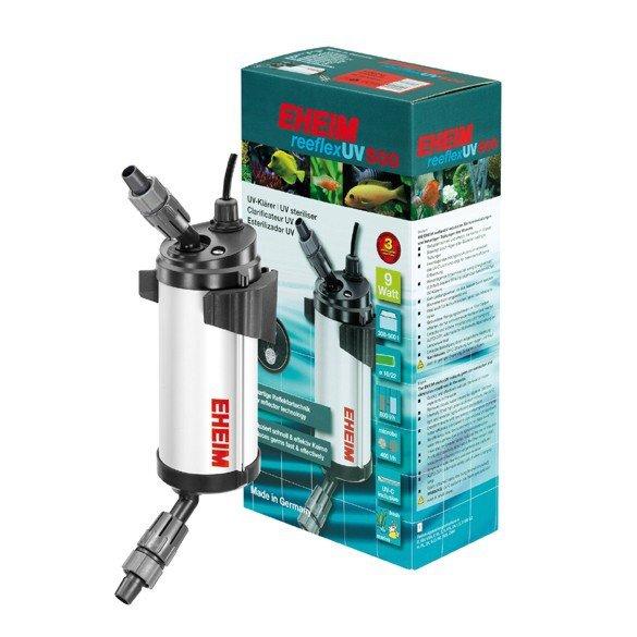 EHEIM REEFLEX UV 500 (9W) D17 - УФ стерилизатор воды для аквариумов до 500л