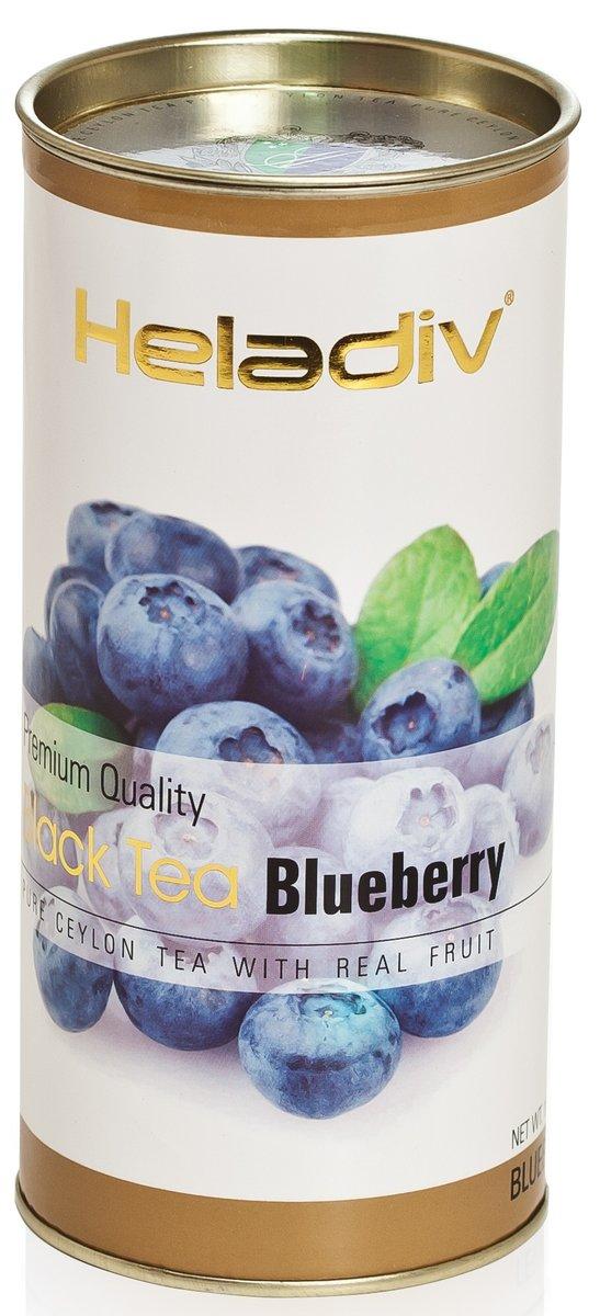 Чай Heladiv blueberry черный листовой 100гр
