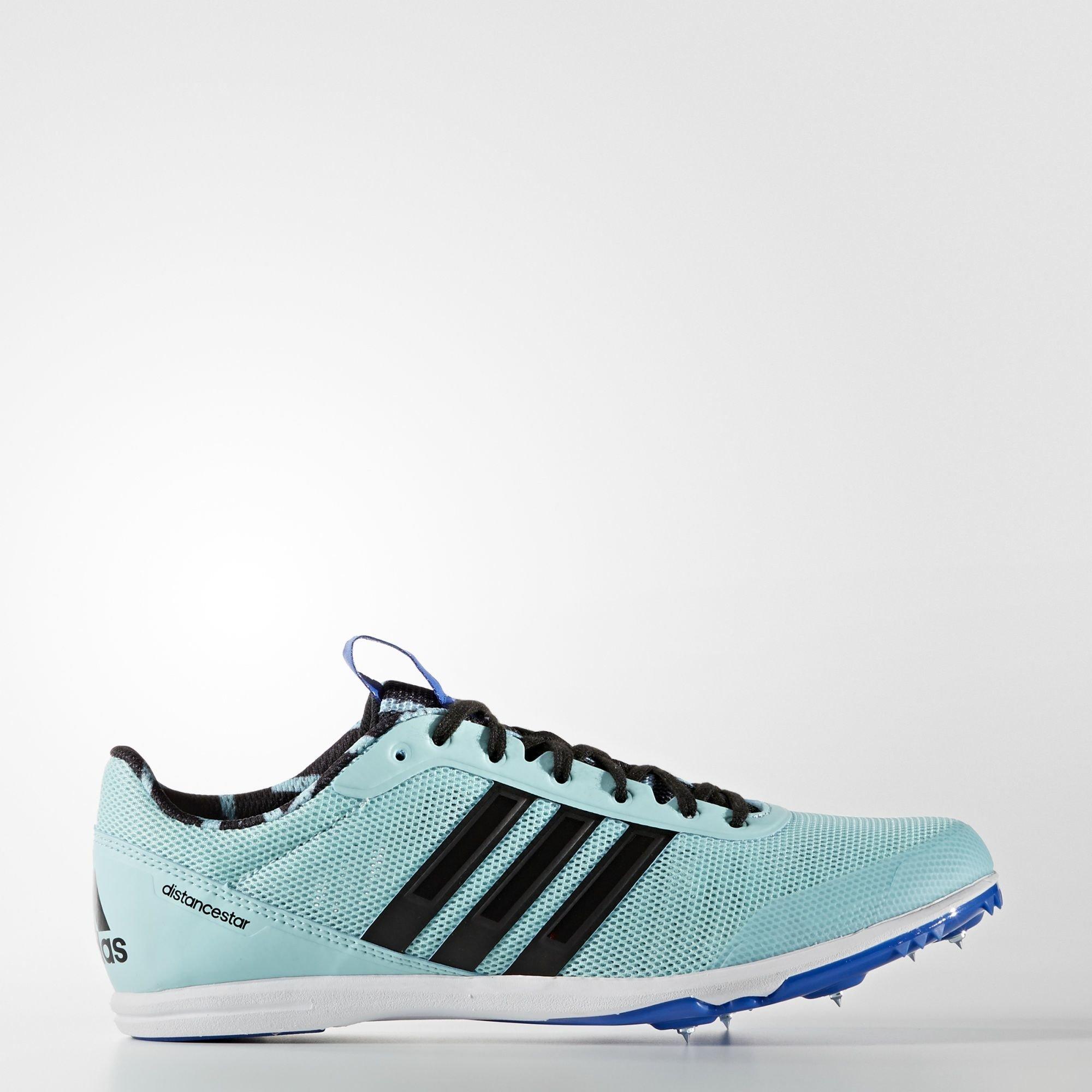 Шиповки для легкой атлетики distancestar adidas Performance clear aqua / core black / blue