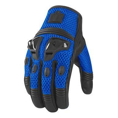 Icon Justice Mesh мотоперчатки (размер: m, цвет: синие)