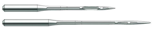 Швейная игла Groz-Beckert B27 RS (SPI) №60 для оверлоков