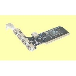 Контроллер orient dc-602 rtl 4-port usb 2.0 pci card