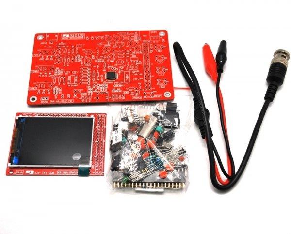 DIY-лаборатория Мастер-кит NM8020. Компактный цифровой осциллограф. Набор для самостоятльной сборки