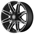 Диск American Racing AX193 9x20 5*115 ET18 d72.6 Black/Machined - фото 1